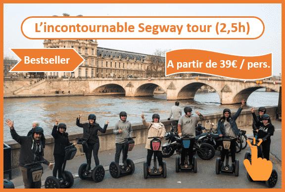 Balade Segway à Paris