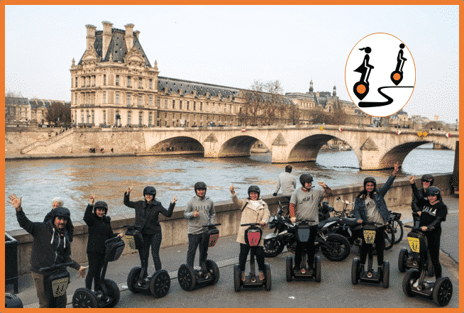 The Amazing Paris Segway Tour