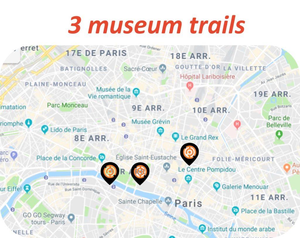 Museum trails