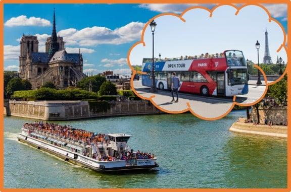 Paris Open Tour (Bus N Boat)