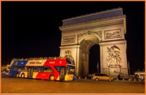 Wheels and Ways tickets de Bus pour le Paris by night