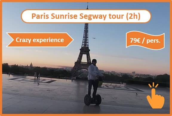 Segway in Paris with Wheels and Ways