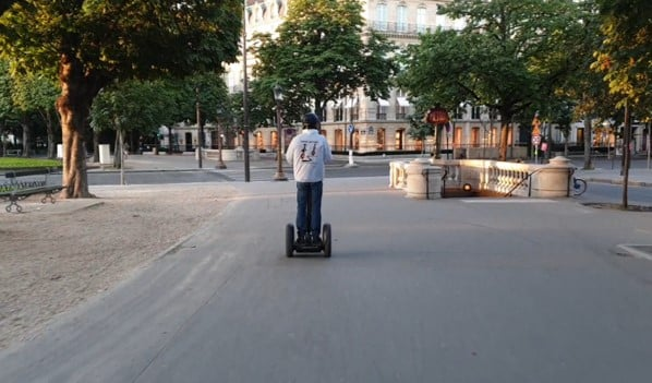 Sunrise paris segway tour 3