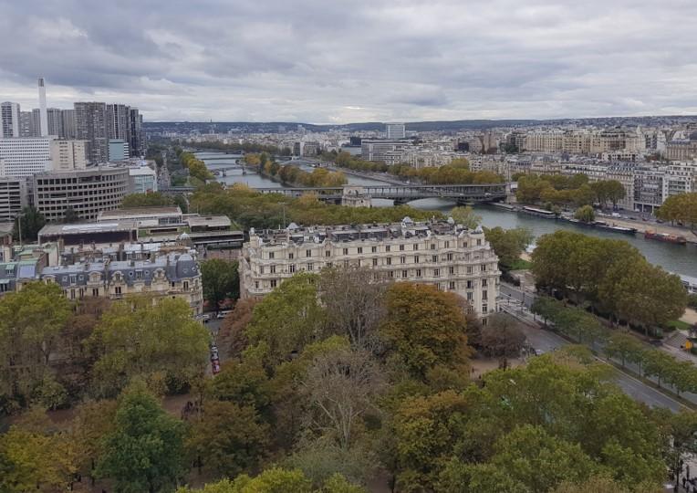 Tour Eiffel - vue du 1er étage