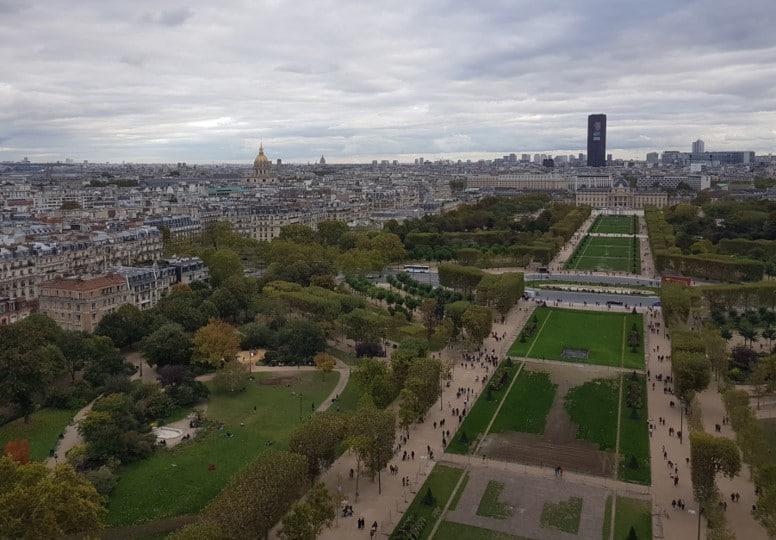 Tour Eiffel - vue du 1er étage b