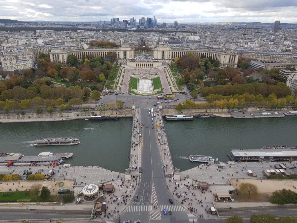 Tour Eiffel - vue du 2ème étage