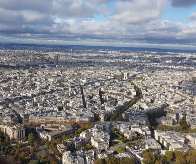 Tour Eiffel - vue du sommet 3