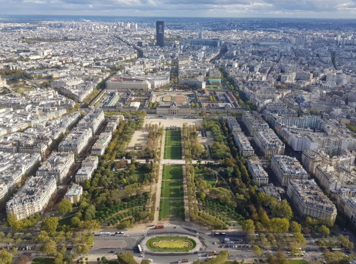 Tour Eiffel - vue du sommet