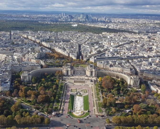 Tour Eiffel - vue du sommet 2