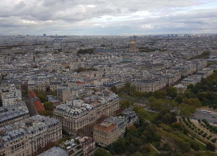 Tour Eiffel - vue du 2ème étage b