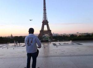 Sunrise paris segway tour